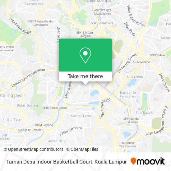 How To Get To Taman Desa Indoor Basketball Court In Kuala Lumpur By Bus Mrt Lrt Or Train Moovit