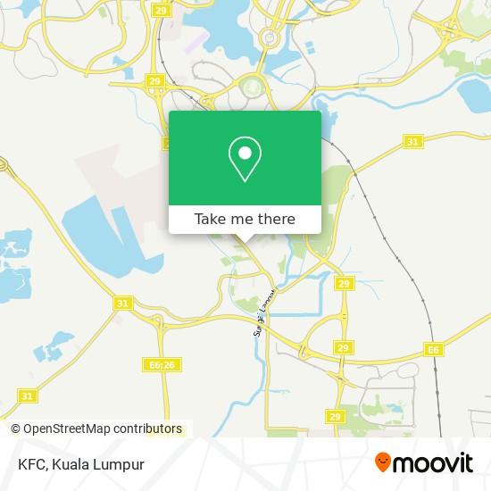 KFC map