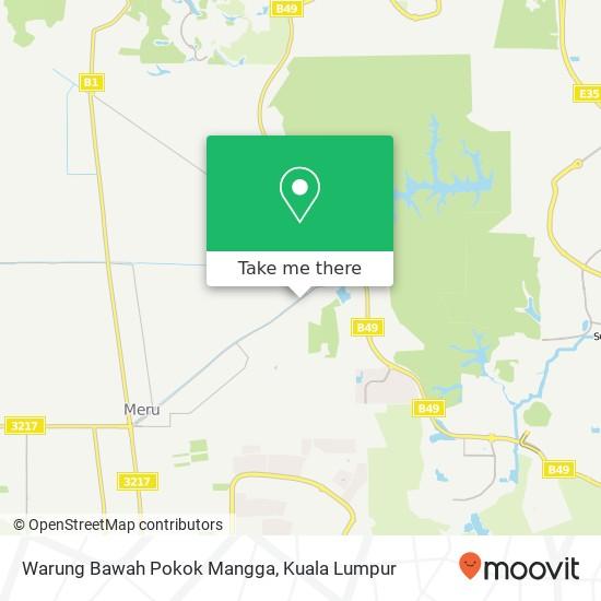 Warung Bawah Pokok Mangga map