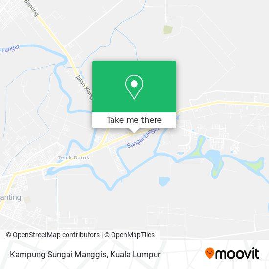 Kampung Sungai Manggis map