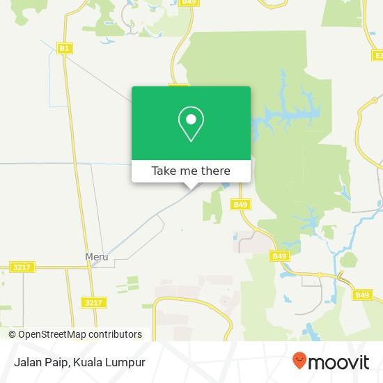 Jalan Paip map