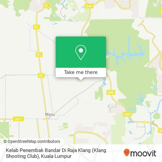 Kelab Penembak Bandar Di Raja Klang (Klang Shooting Club) map