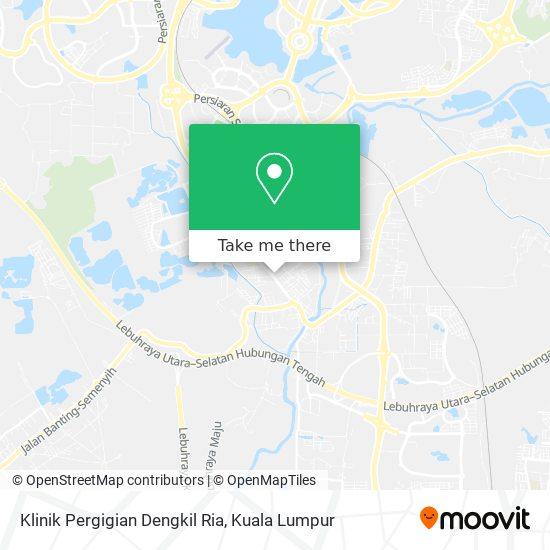 Klinik Pergigian Dengkil Ria map