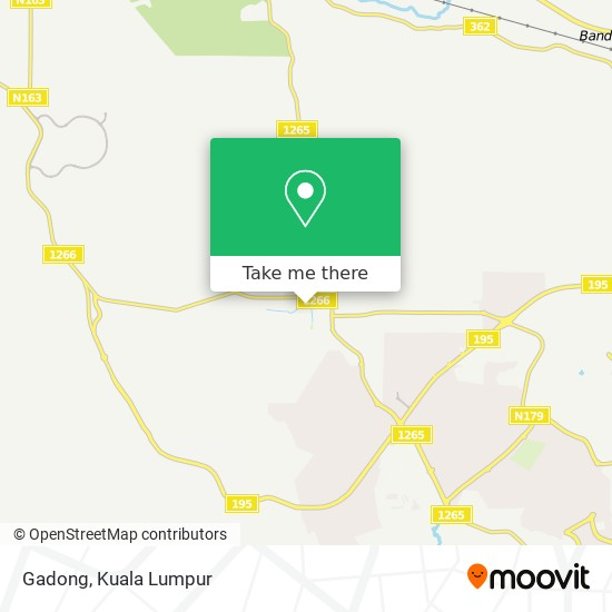 Gadong map