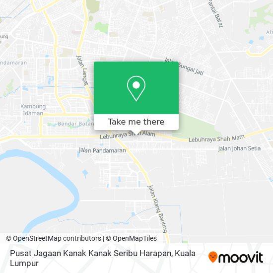 Pusat Jagaan Kanak Kanak Seribu Harapan map