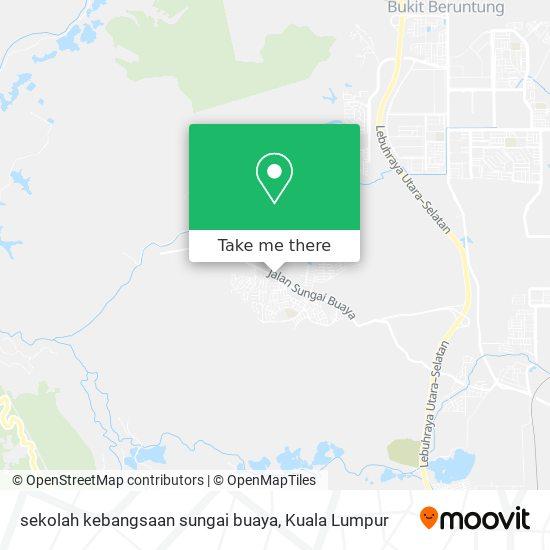 sekolah kebangsaan sungai buaya地图
