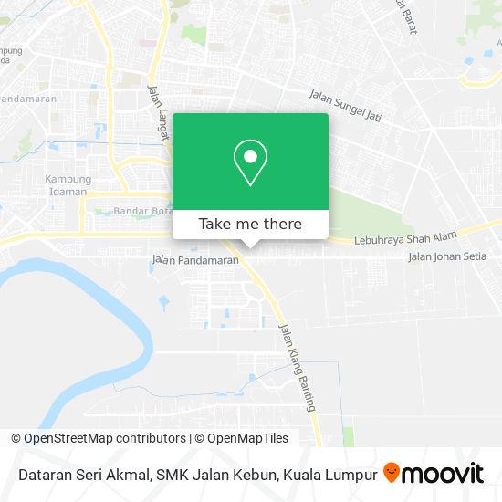 Dataran Seri Akmal, SMK Jalan Kebun map