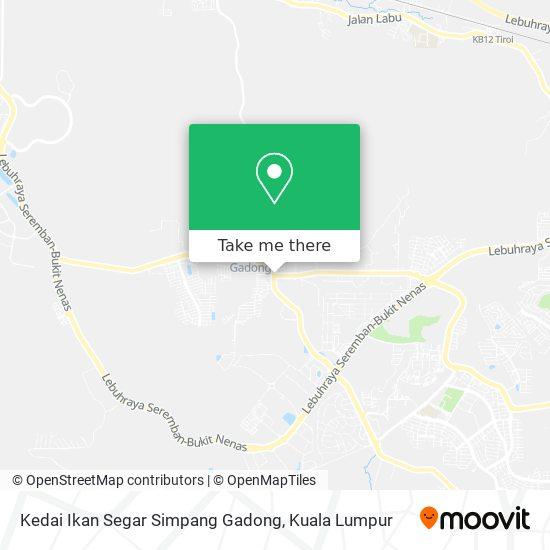 Kedai Ikan Segar Simpang Gadong map