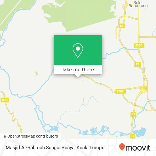 Masjid Ar-Rahmah Sungai Buaya map