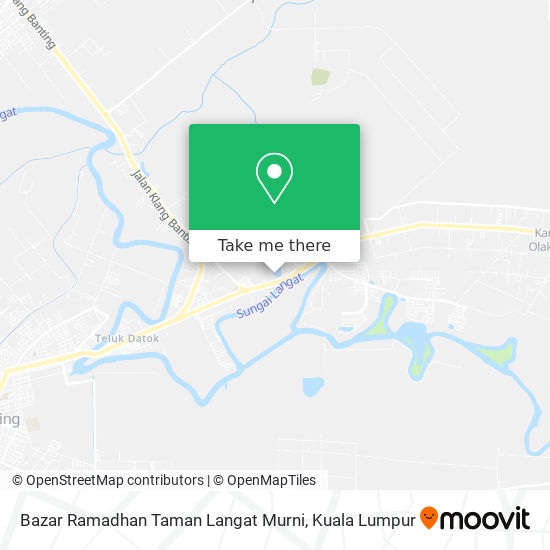Bazar Ramadhan Taman Langat Murni map