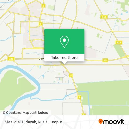 Masjid al-Hidayah map
