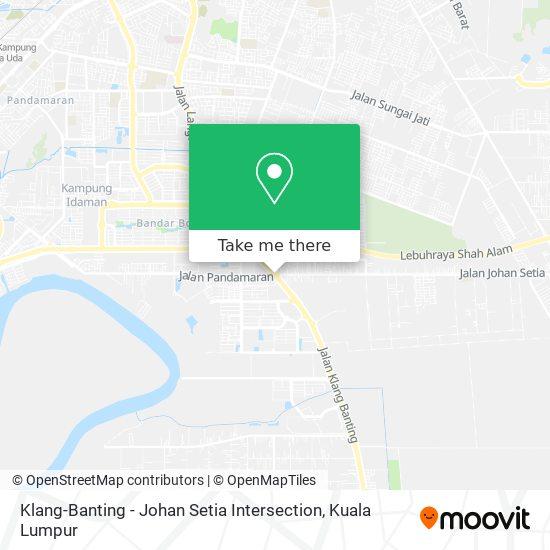 Klang-Banting - Johan Setia Intersection map