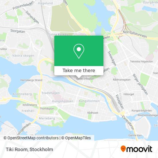 Tiki Room map