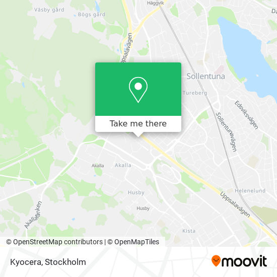 Kyocera map