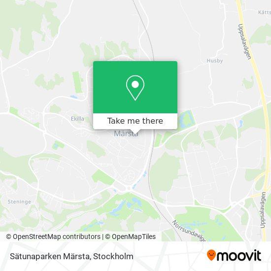 Sätunaparken Märsta map