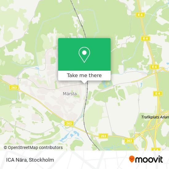 ICA Nära map