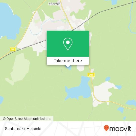 Santamäki map