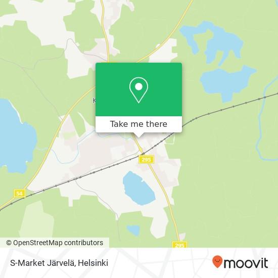 S-Market Järvelä map