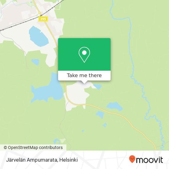 Карта Järvelän Ampumarata