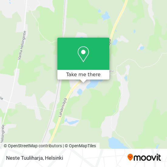 Карта Neste Tuuliharja