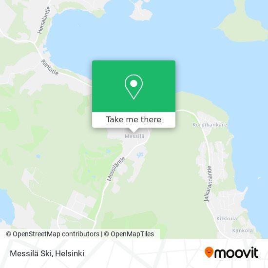 Карта Messilä Ski