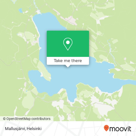 Карта Mallusjärvi
