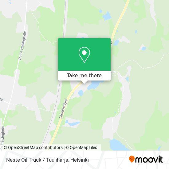 Карта Neste Oil Truck / Tuuliharja
