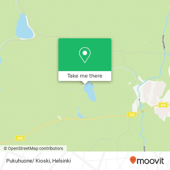 Pukuhuone/ Kioski map