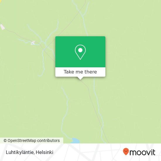 Luhtikyläntie map