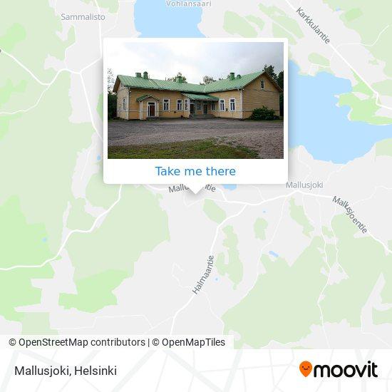 Карта Mallusjoki