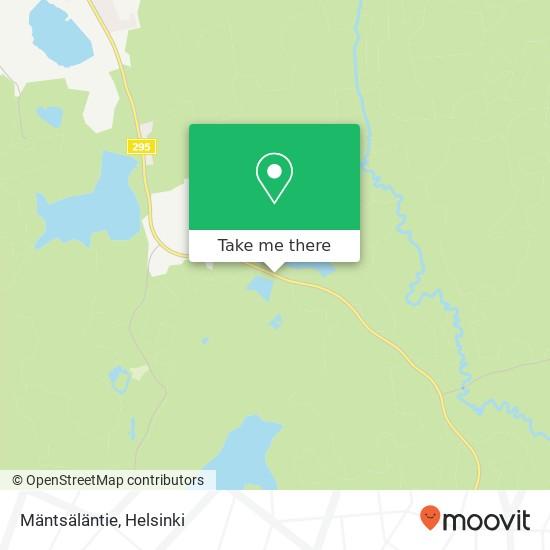 Mäntsäläntie map