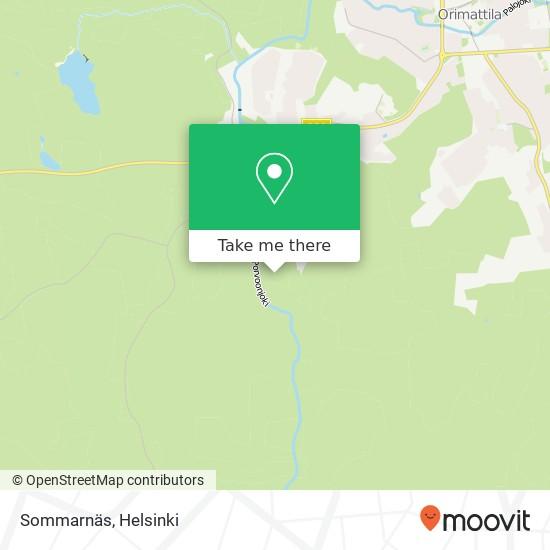 Карта Sommarnäs