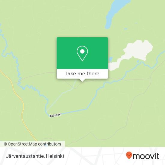 Карта Järventaustantie