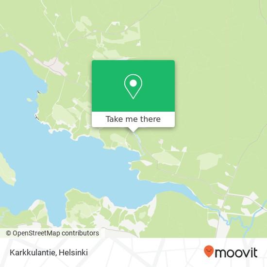 Карта Karkkulantie