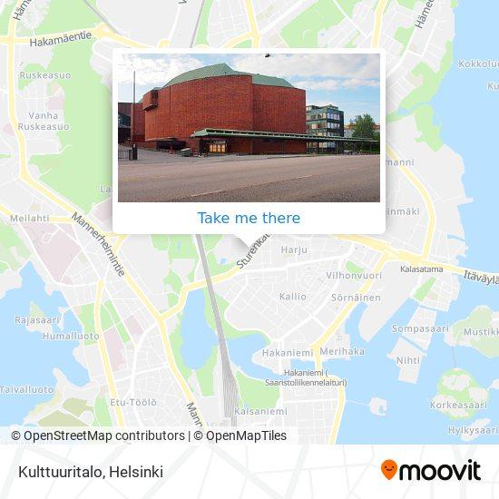 Kulttuuritalo map