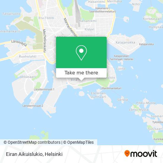 Eiran Aikuislukio map
