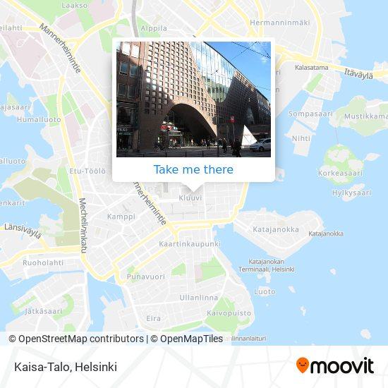 Kaisa-Talo map