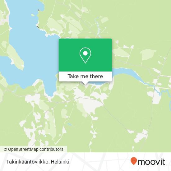 Карта Takinkääntöviikko