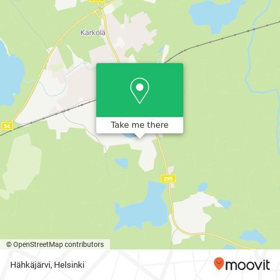 Hähkäjärvi map