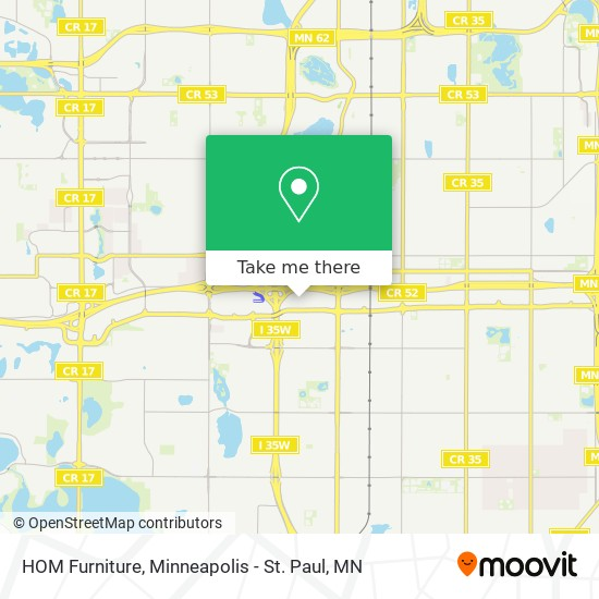 Bloomington By Bus Or Light Rail, Hom Furniture Mn