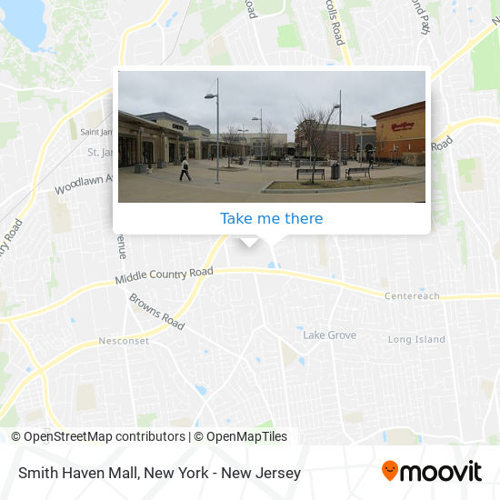 Smith Haven Mall map