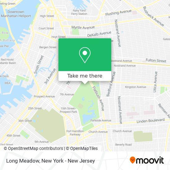 Long Meadow map