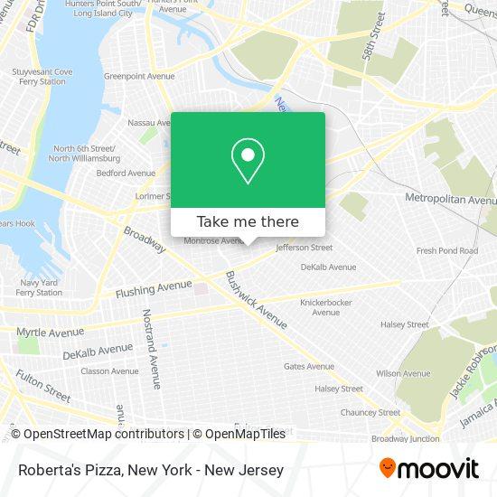Roberta's Pizza map