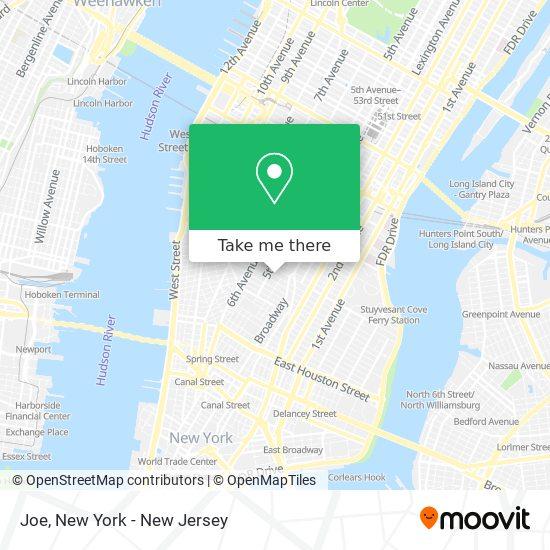 Joe map
