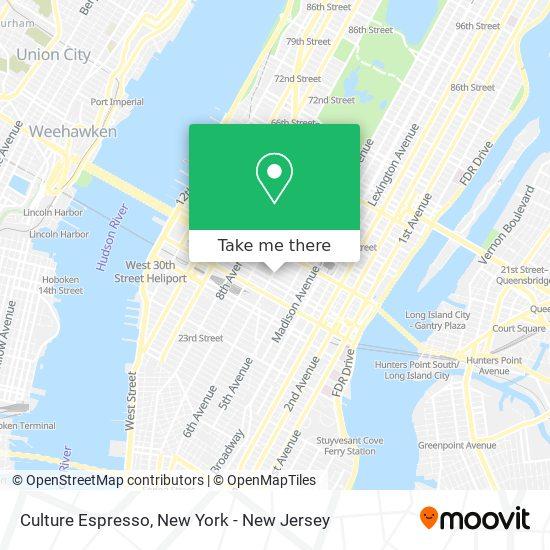 Culture Espresso map