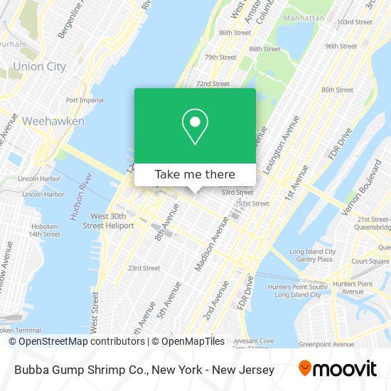 Bubba Gump Shrimp Co. map