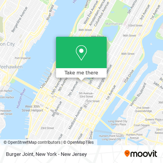 Burger Joint map