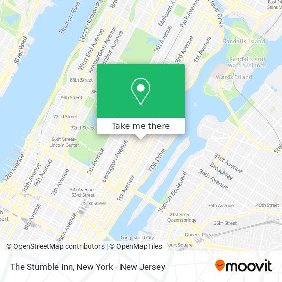 The Stumble Inn map