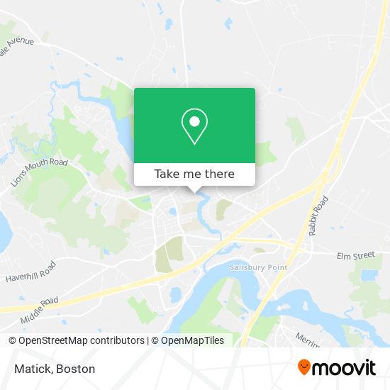 Mapa de Matick
