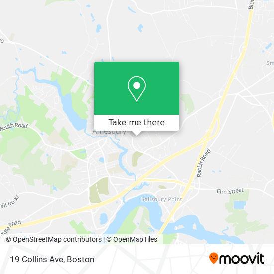 Mapa de 19 Collins Ave